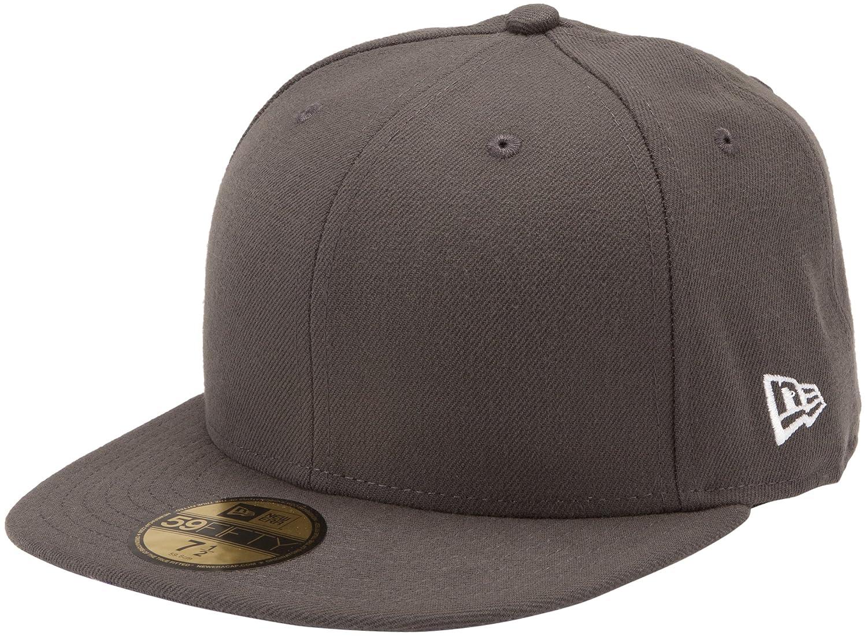 f1a523905bb41 New Era Original Basic Graphite 59Fifty Hat