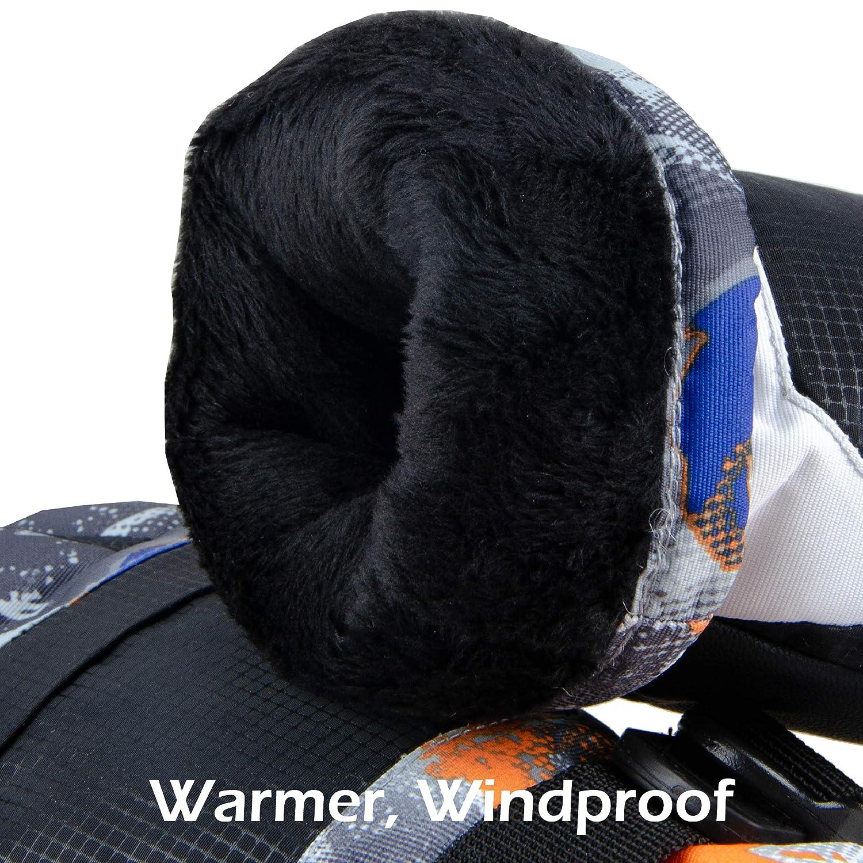 TRIWONDER Guantes de Esqu/í Ni/ños Impermeable Pantalla T/áctil Guantes C/álidos para Ciclismo Snowbord Invierno 7-13 A/ños