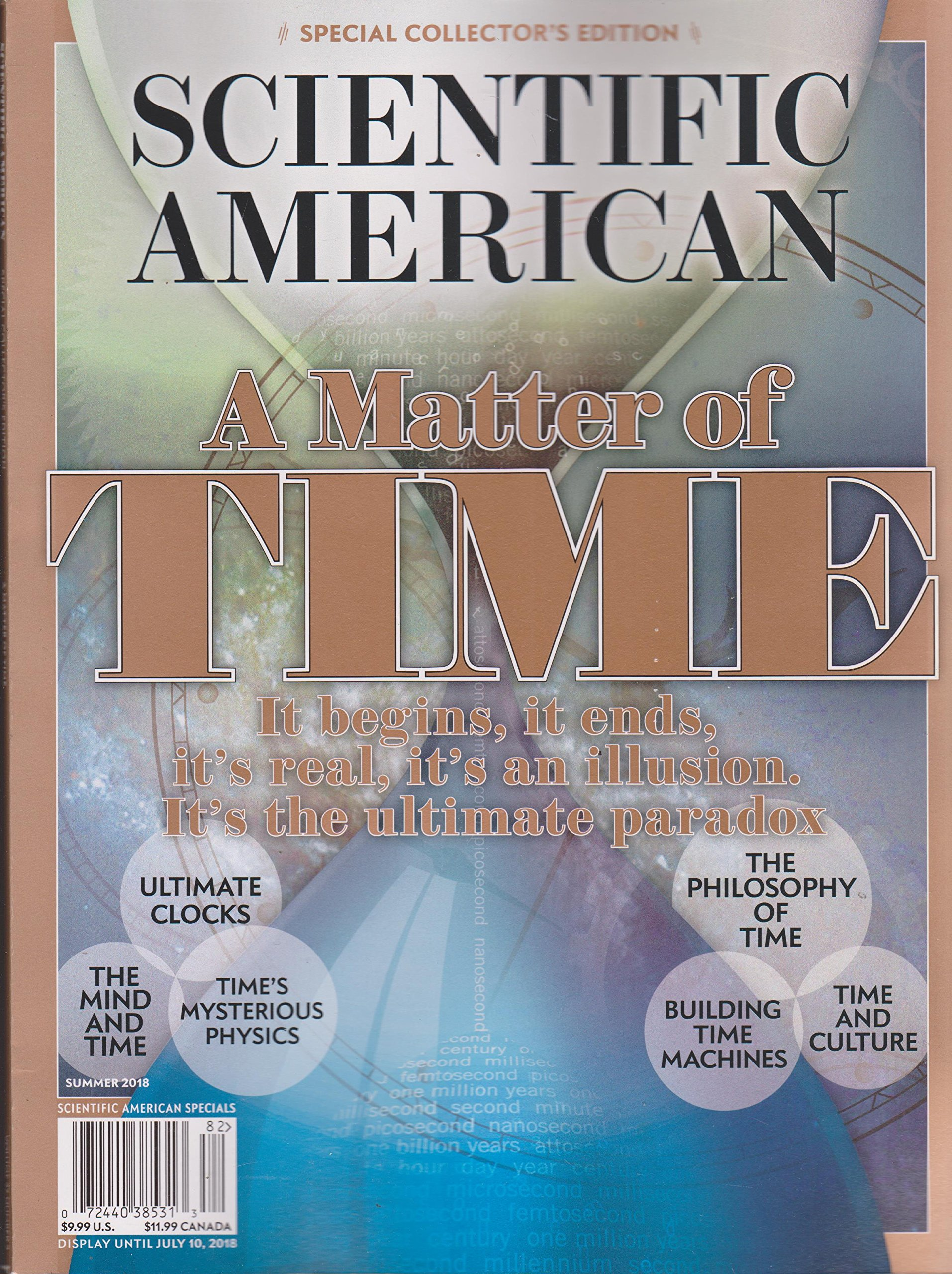Download Scientific American Magazine Special Collector's Edition Summer 2018 A Matter of Time PDF