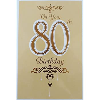 On Your 80th Birthday Greeting Card Be Filled With Happiness Laughter And Love