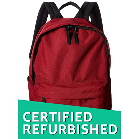 e94a4e70c01a (Certified REFURBISHED) AmazonBasics 21 Ltrs Classic Backpack - Red  Amazon. in  Bags