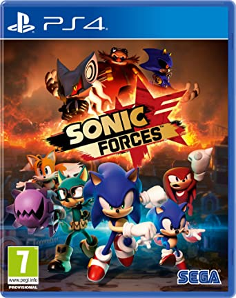 Sonic Forces (PS4): Amazon co uk: PC & Video Games