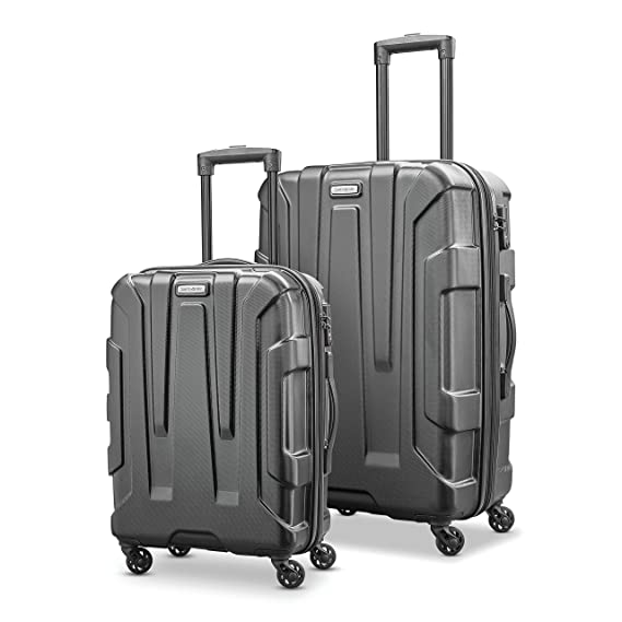 """Samsonite Centric Expandable Hardside Luggage Set With Spinner Wheels, 2 Piece (20""""/24"""") by Samsonite"""