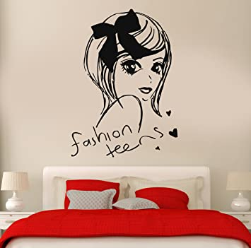 Amazoncom Wall Stickers Vinyl Decal Fashion Teen Girl Cool Decor - Wall decals for teenage girl