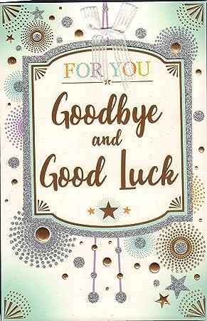Good Bye Leaving Card Large