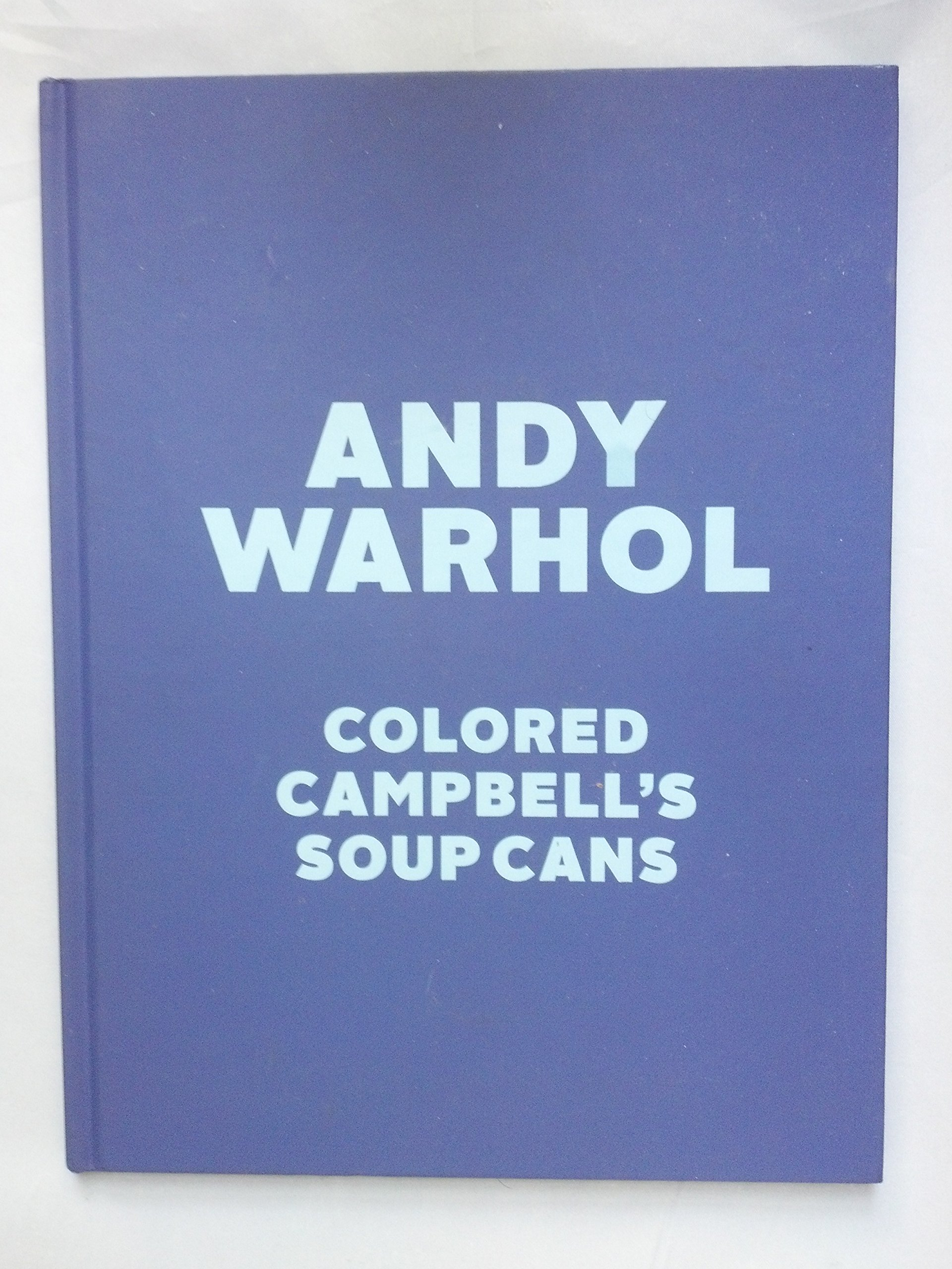 andy warhol colored campbells soup cans