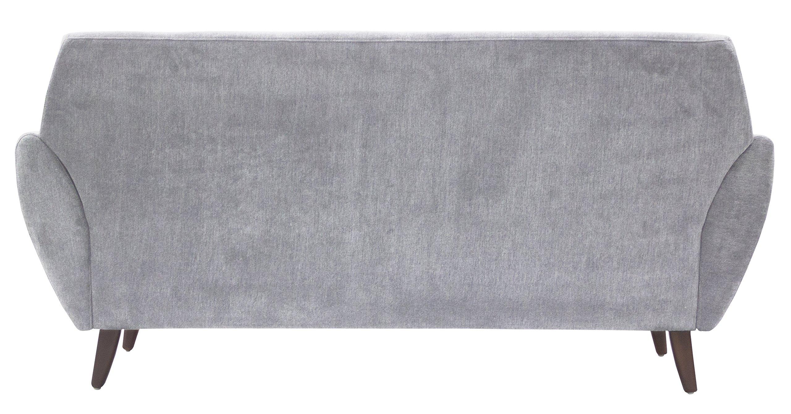 Serta Artesia Collection 61'' Loveseat in Smoke Gray by Serta (Image #5)