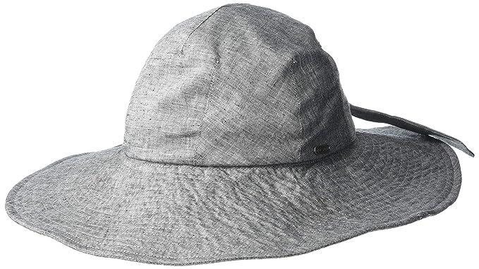 d4664fdb pistil Women's Poolside Packable Full Brim Sun Hat, Black, One Size