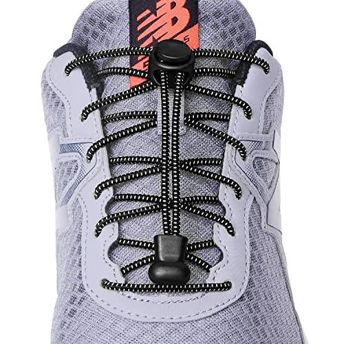 20eadb23f628c7 Amazon.com  Elastic No Tie Shoe laces for Kids and Adults