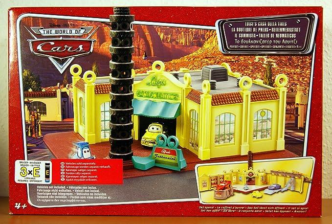 Disney Pixar Cars Luigis Casa Della Tires Playset