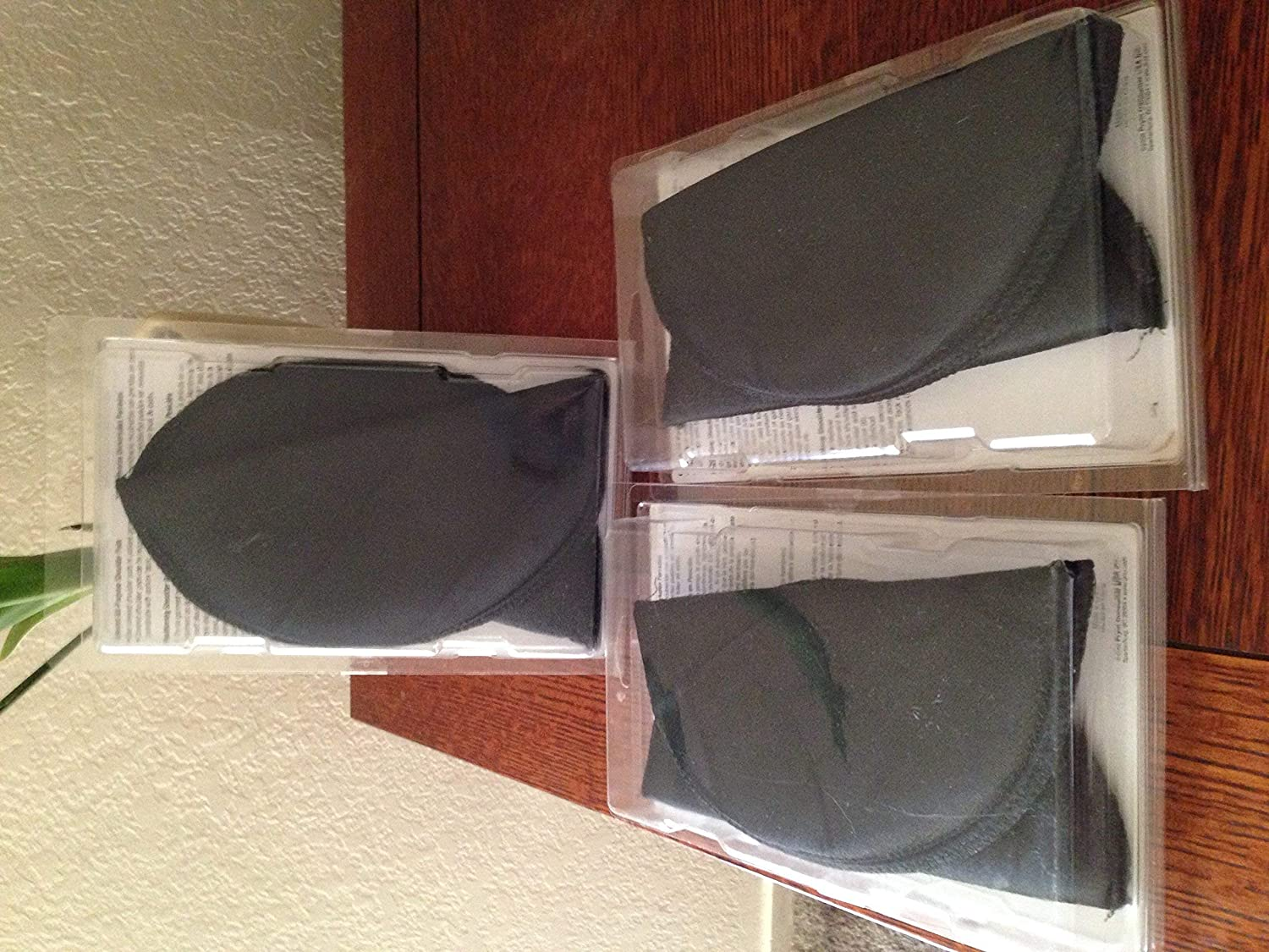 """Dritz 53071-1 Shoulder Pads, Covered All-Purpose, 1/4"""", Black: Arts, Crafts & Sewing"""