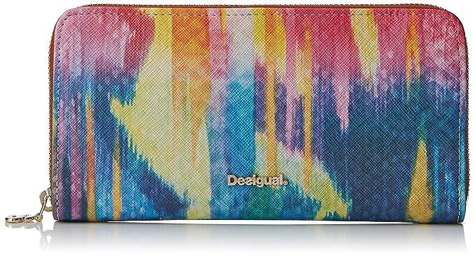 Desigual - Wallet Carabela Fiona Women, Carteras Mujer, Rosa ...