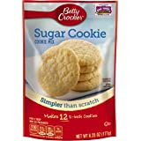 Betty Crocker Cookie Mix Sugar Snack Size Makes 12 Cookies 6.25 oz Pouch (pack of 9)