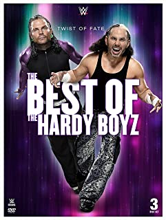 Book Cover: WWE: Twist of Fate: The Best of The Hardy Boyz