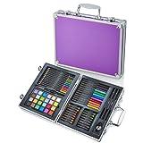 Artworx 70 Piece Art Studio With Aluminium Case - Purple