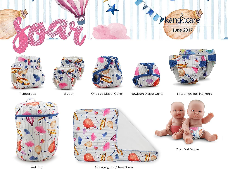 6-9 meses multicolor ni/ños Kanga Care KRWETB/_OS-P117 Bolsas impermeables para pa/ñales sucios