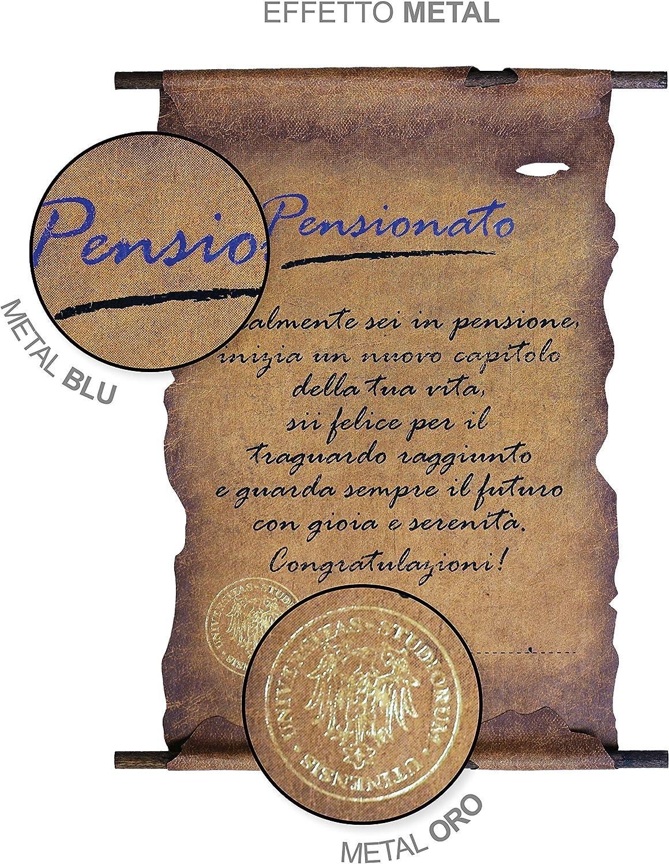 PENSIONATA Biglietto pergamena pensione
