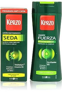 Kerzo - Seda + Fuerza - Locion mantenimiento + Champú - 250 ml + 150 ml