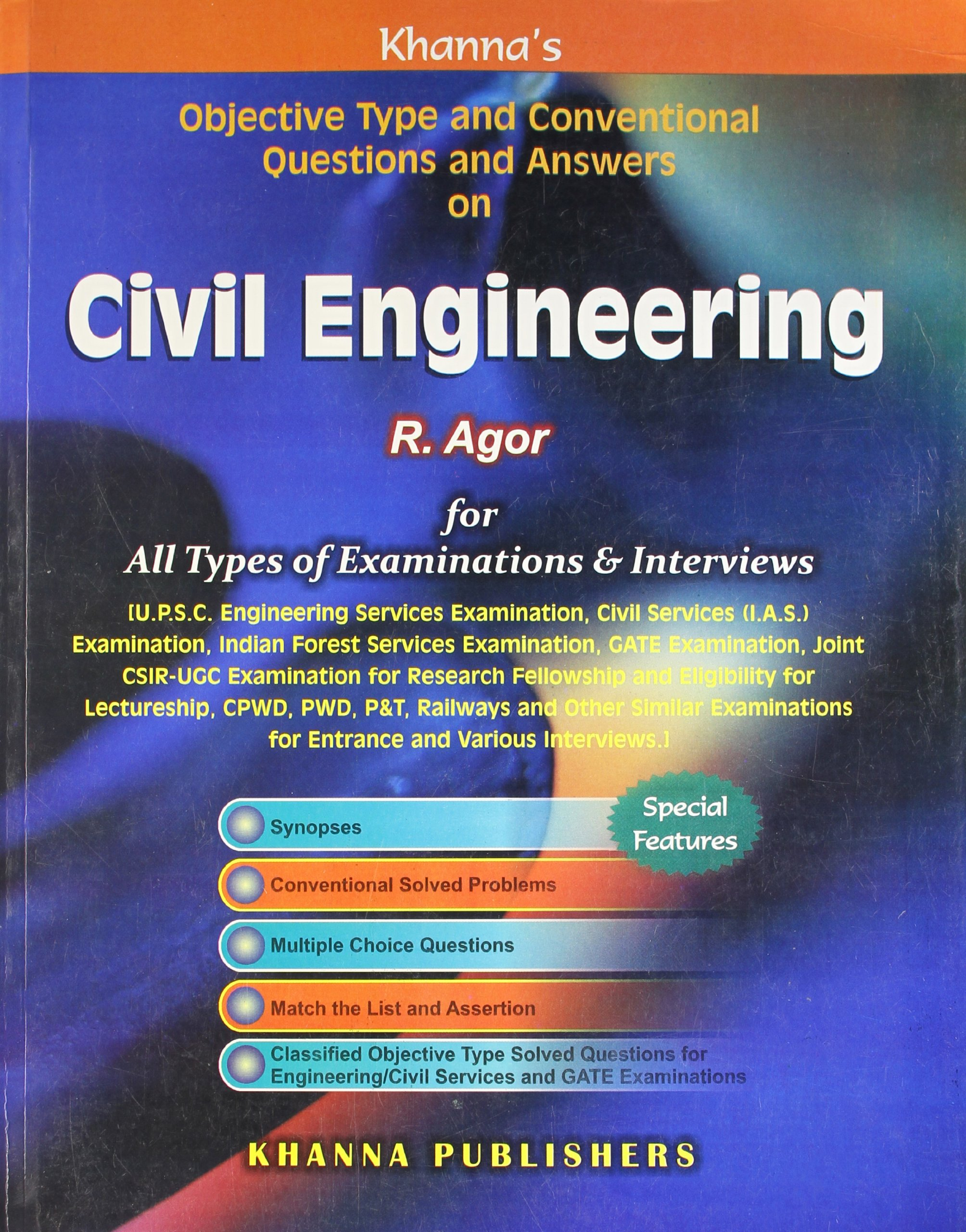 Buy Civil Engineering Objective Type And Conventional Questions And