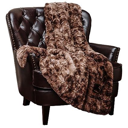 Well-known Amazon.com: Chanasya Faux Fur Throw Blanket - Super Soft Fuzzy  JA34