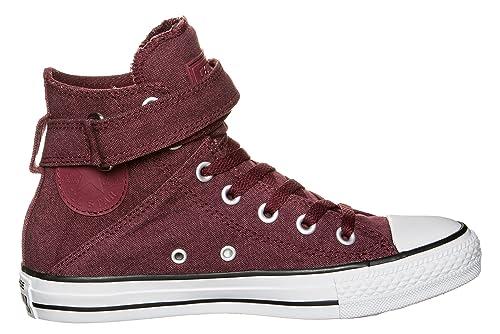 3b74cbd5cf2 Converse Chuck Taylor All Star Brea alta zapatos (rojo negro ...
