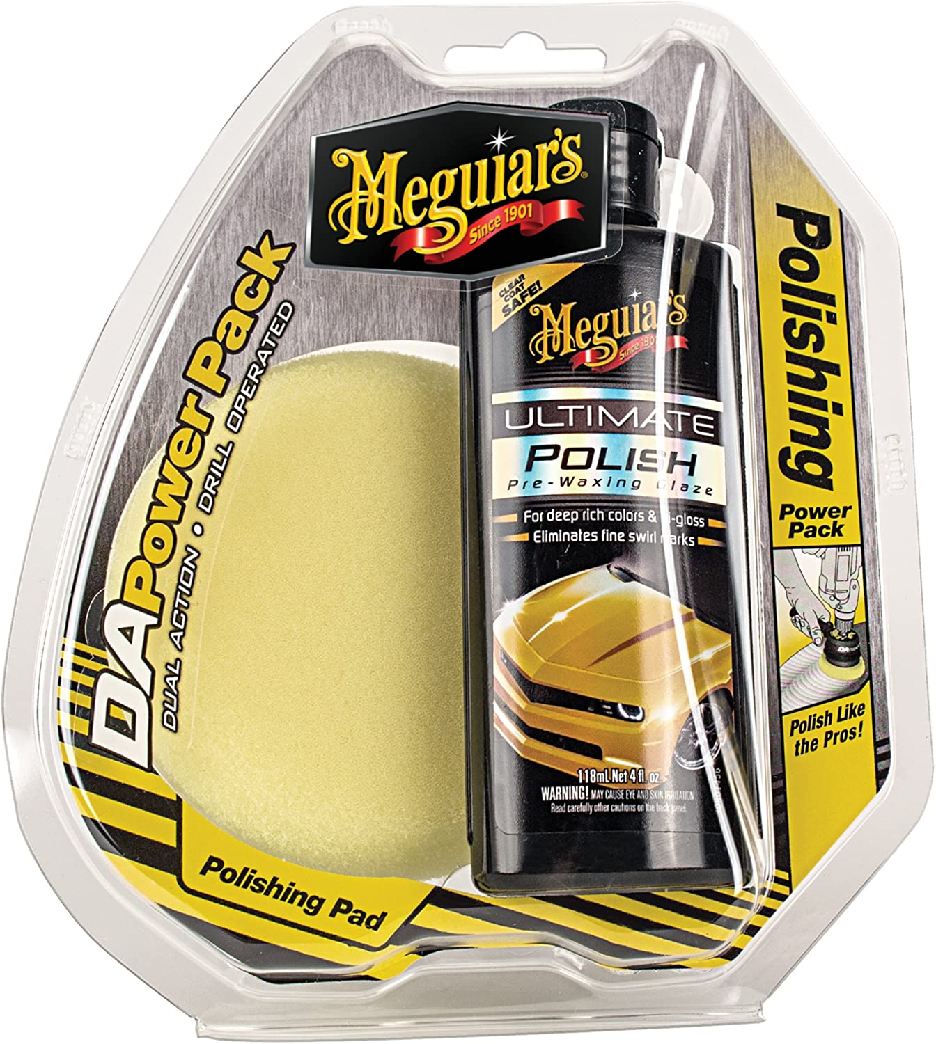 Meguiars G3501 DA Compound Power Pack