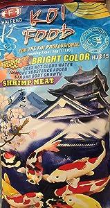 Hai Feng Koi Food Bright Color (M-Large Pellet)