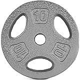 Cap Barbell 10 -Pounds Standard Grip Plate