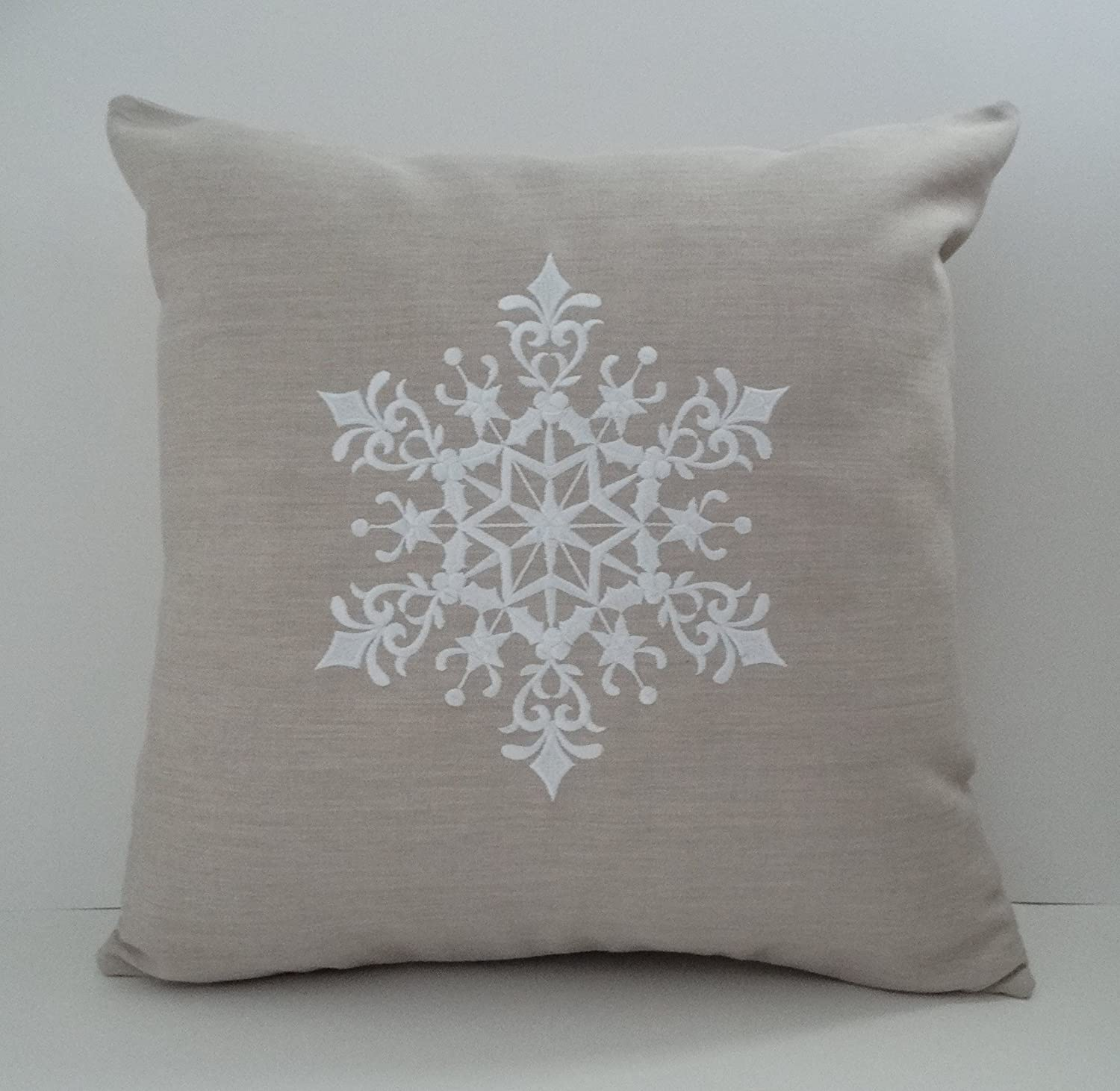 Amazon Com Scandinavian Christmas Pillow Cover Sunbrella Indoor