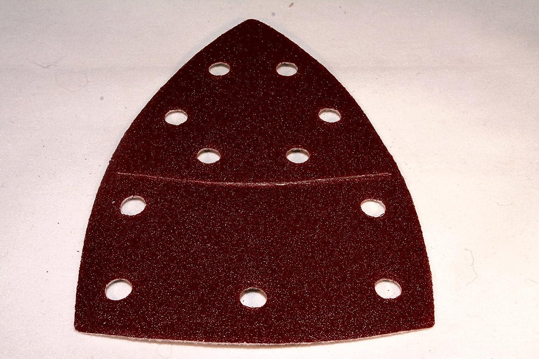 25 Stück Klett-Schleifblätter 105x152 mm Korn 240 für Multischleifer Prio