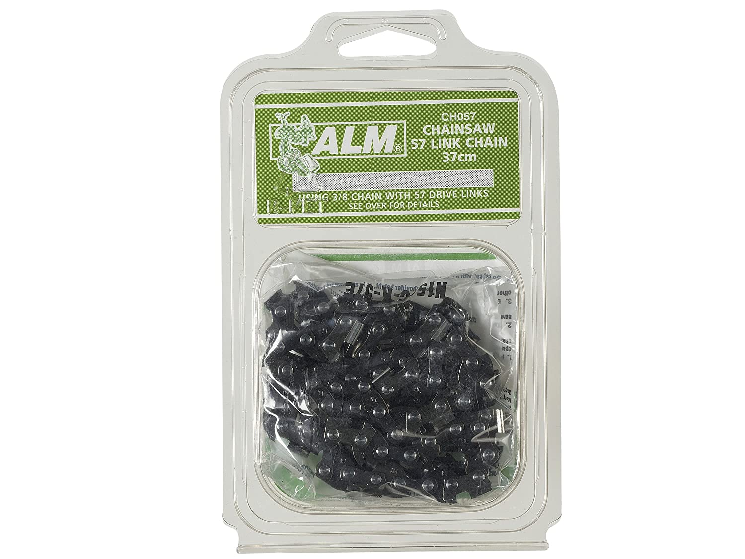 ALM Manufacturing CH057 3//8-inch x 57-Links Chainsaw Chain Fits 40cm Bars