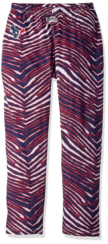 Zubaz Mens Officially Licensed NFL Zebra Print Lounge Pants