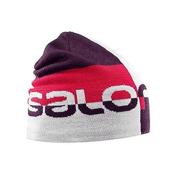 e0cf7875 Salomon Graphic Beanie, White, One Size: Amazon.co.uk: Sports & Outdoors