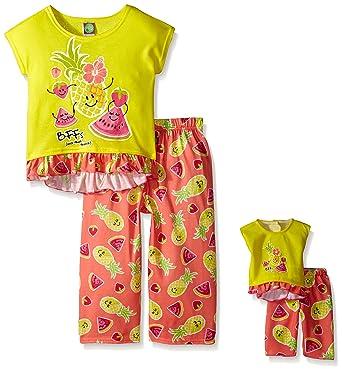 Amazon.com  Dollie   Me Girls  Sleepwear Set  Clothing f9ae88bce