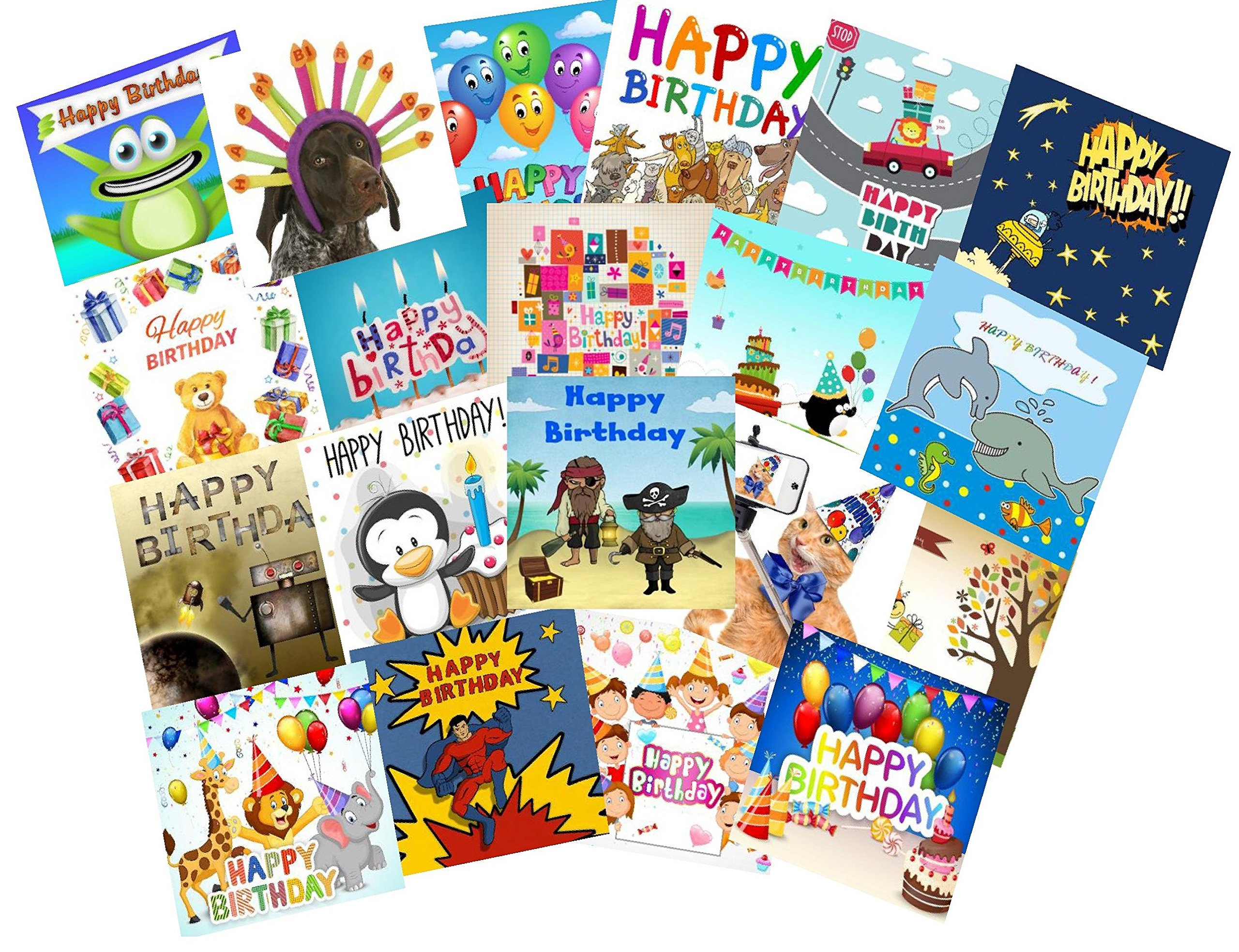 Childrens Birthday Cards Amazon