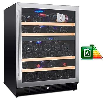 Mobile per vini cantinetta frigo bottiglie doppia temperatura with mobile per vini scaffale - Cantinetta vini ikea ...