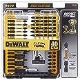 Conjunto de brocas de chave de fenda Dewalt, pronto para impacto, FlexTorq, 40 peças (DWA2T40IR), preto/prata, pronto para us