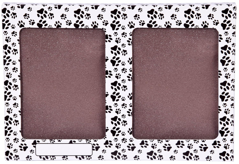 dobar 36020 Bilderrahmen für Tiere Hund Hase mit 2 x 3D-Abdruck ...