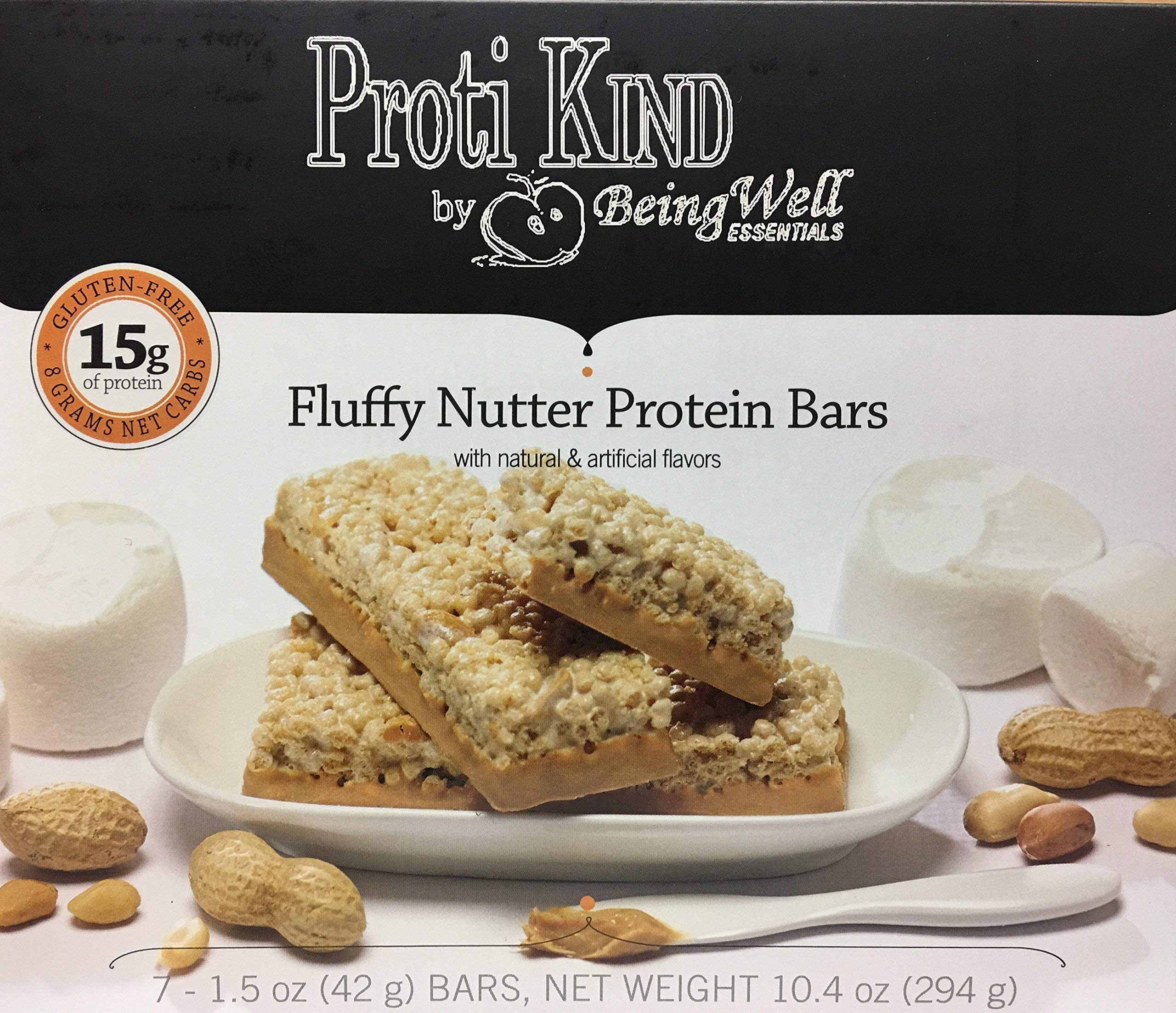 Proti Kind Fluffy Nutter VLC Protein Bars - Three Pack - 21 Bars