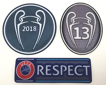 Real Madrid F.C. - Juego de parches para camisa de fútbol 35f42ba4f8ccd