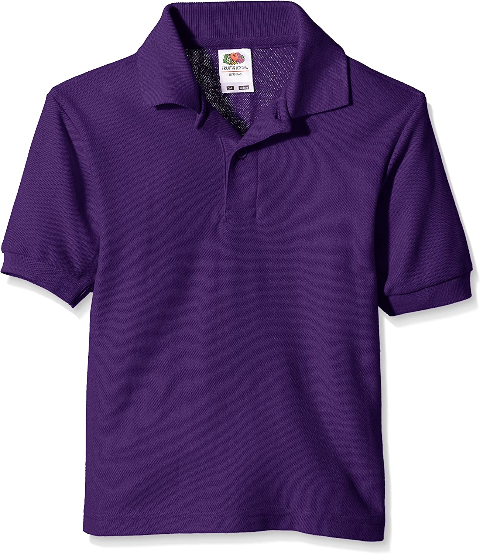 Fruit of the Loom Pique Polo Camiseta para Niñas: Amazon.es: Ropa ...