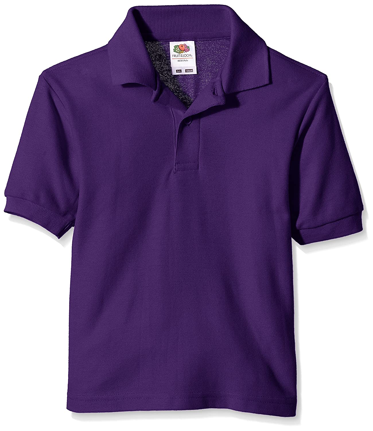Fruit of the Loom Kids' Pique Polo Shirt 63-417-0