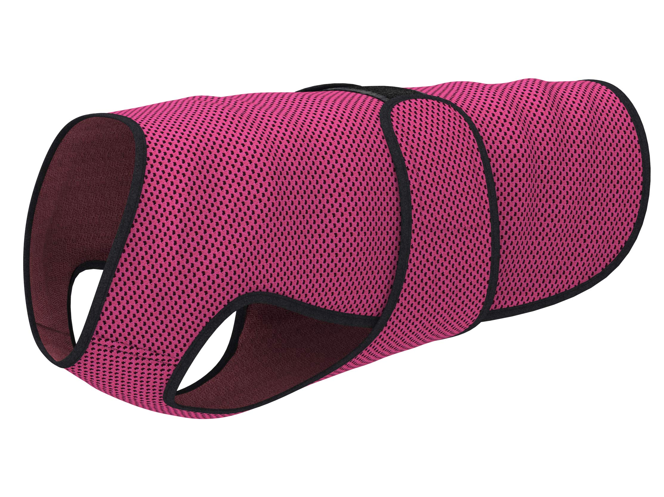 Dog Cooling Vest (M, Rose Red)
