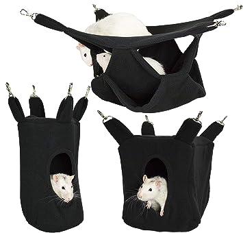 Rodents Residence Kuschelhängematten Set Kleintier