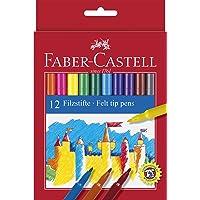 Faber-Castell Unicolor Keçeli, 12 Renk