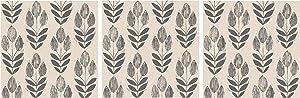 NuWallpaper NU2459 Folk Tulip Neutral Peel & Stick Wallpaper (?hr?? P?ck)