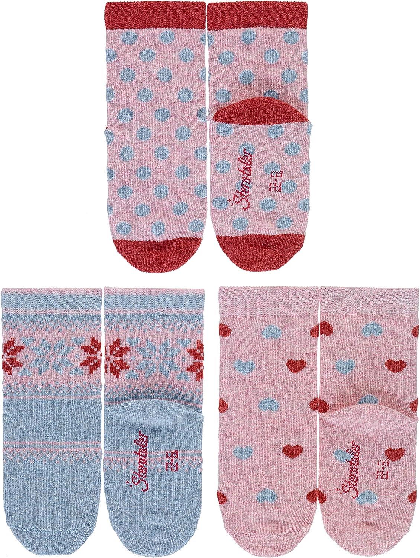 Sterntaler M/ädchen Socken S/öckchen 3er-Pack Tupfen