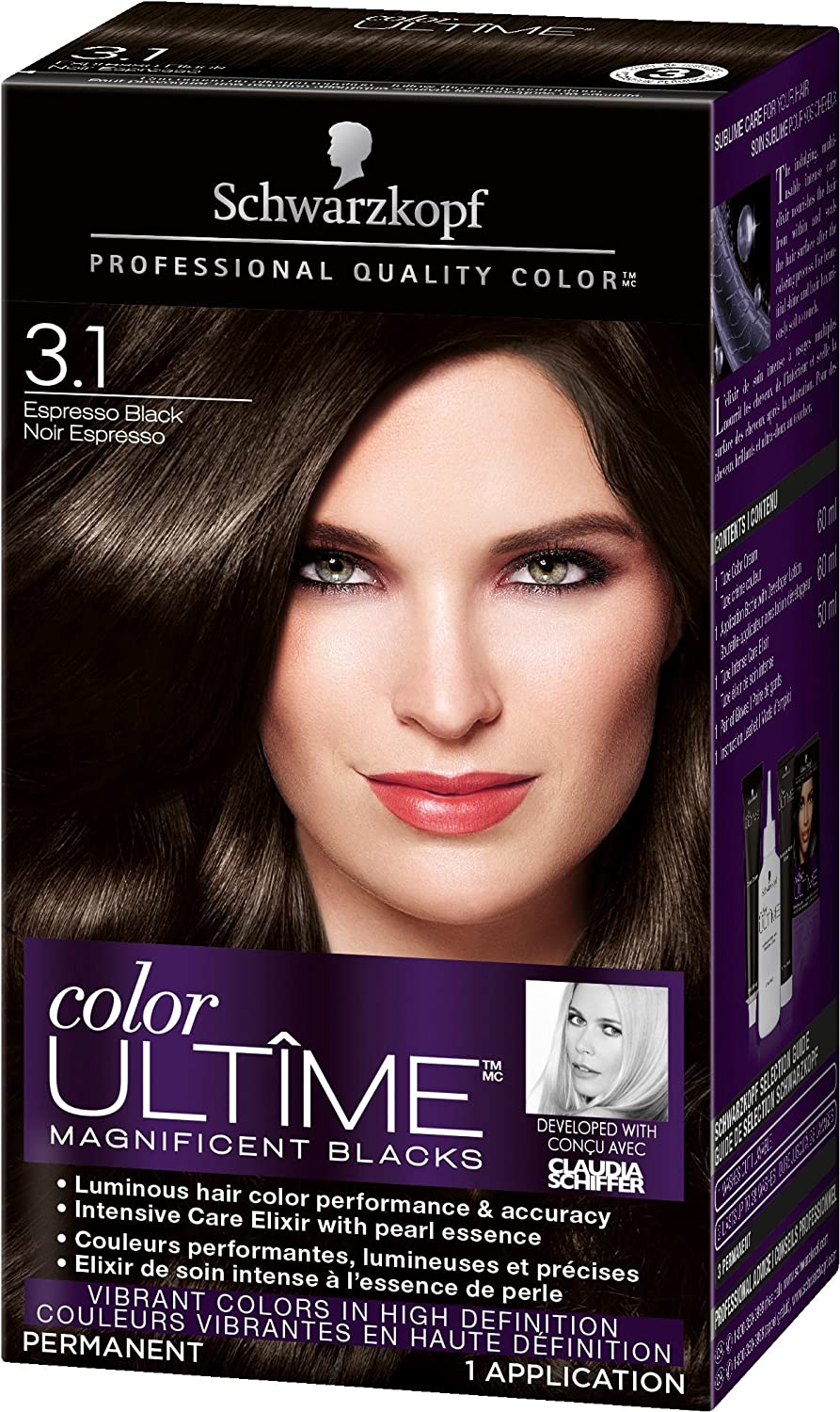 Schwarzkopf Color Ultime Permanent Hair Color Cream, 5.22 Ruby Red, 60 Milliliter (2021484)
