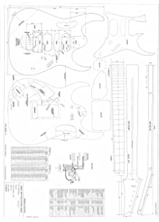Guitar Plans To Make The Ibanez JEM 777