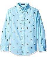 IZOD Kids Little Boys' Gingham Shirt
